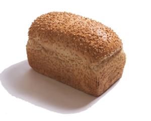 国産小麦粉ぱん × 天然酵母 370円:外はパリッと、中はもちもちの国産小麦を使用した天然酵母パン。トーストに、サンドイッチに。