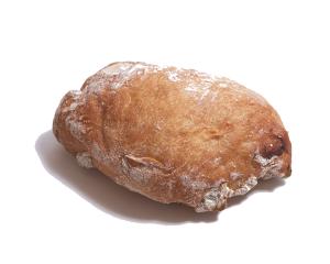 リュスティックノア 170円:「素朴な」「田舎風の」という意味を持つフランスパンの一種です。くるみの香ばしさと小麦の風味が際立ちます。